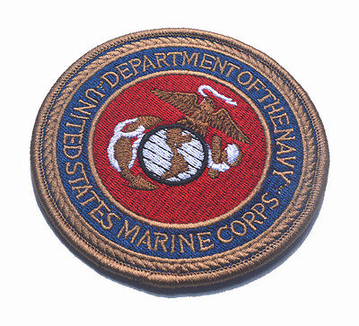 $7.99 • Buy United States Marine Corps Department Of The Navy Usmc Militia U.s. Army Patch