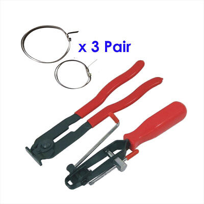 AU29 • Buy 2Pc CV Boot Clamp Pliers Set CV Joint Clamp Banding Tool With 3 Set Of Clamps