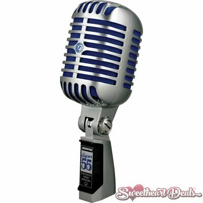 £180.08 • Buy Shure Super 55 Deluxe Classic Vocal Microphone Rockabilly 1950s Style