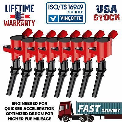 $36.99 • Buy TRITON Ignition Coils 8 Packs For Ford F150 1997~2003 5.4L / 2000~2009 4.6L V8