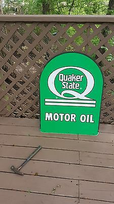 Old Quaker State  Oil Sign....excellent Condition  • 250$