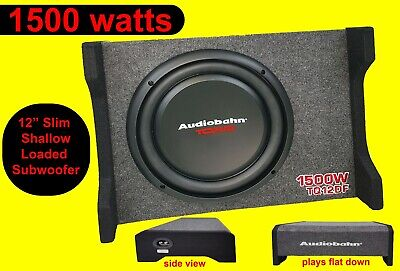 $109.07 • Buy 12  Bass Subwoofer Box Car Audio 1500 Watts PASSIVE BOX New First Time In UK