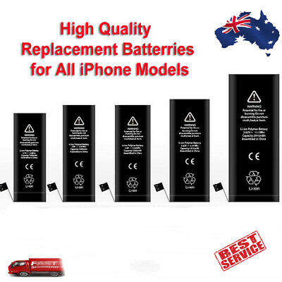 AU9.99 • Buy Replacement Battery IPhone X 8 7 6S 6 Plus SE 5S 5C 5 4S 4 New 0 Cycle
