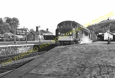 Miller's Dale Railway Station Photo. Peak Forest -Monsal Dale. Chinley Line (19) • 3.50£