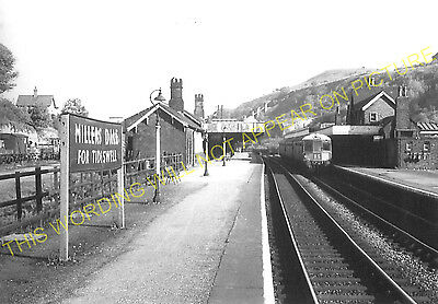 Miller's Dale Railway Station Photo. Peak Forest - Monsal Dale. Chinley Line (8) • 3.50£