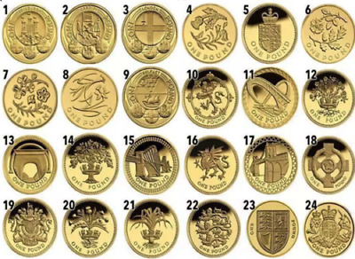 £3.75 • Buy £1 One Pound Rare British Coins, Coin Hunt 1983-2015