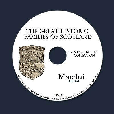 £5.99 • Buy The Great Historic Families Of Scotland – Vintage Collection 2 Ebooks On 1 DVD