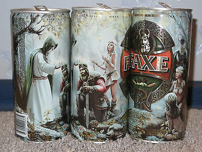 $ CDN12.14 • Buy Rare Beer Can  Faxe , Rus, Limited Edition, Ragnar Part Iii 1l