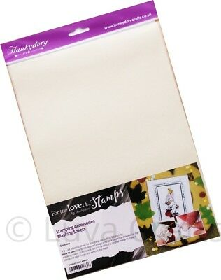 Hunkydory Low Tack Craft Masking A4 Sheet For Stamping & Die-cutting - Pack Of 3 • 3.49£