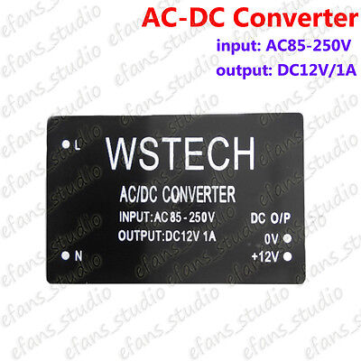 AC-DC Buck Voltage Converter 110V 220V To 12V Step-Down Regulator Power Module • 4.05£