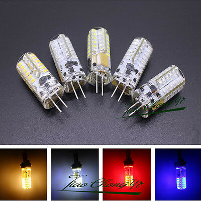 AU2.92 • Buy G4 3W 3 Watt 48LED SMD 3014 LED  White Red Green Blue Light Bulb DC AC/DC 12V