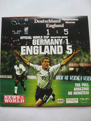 £2.19 • Buy Germany 1 England 5 Football  (DVD, 2001) Promo DVD PAL Unsealed