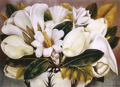$34.99 • Buy Magnolias  By Frida Kahlo  Giclee Canvas Print Repro