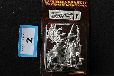 Games Workshop Warhammer Tomb Kings Army Standard Metal Figure Set Fantasy OOP B • 69.99£