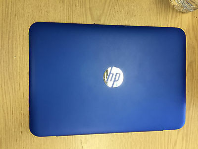 HP 11-D062NA Laptop Rear Screen Lid Top Plastic Housing Cover Blue Wifi Cable • 11.50£
