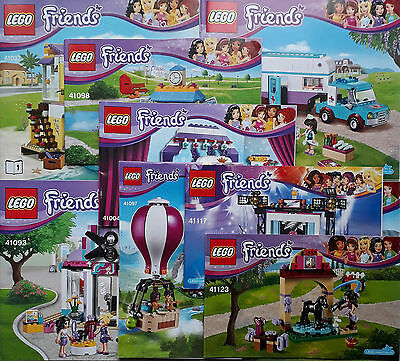 Lego Friends Instruction Manual BOOKS ONLY New • 1.99£