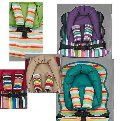 £9.95 • Buy Universal Seat Liner Head Hugger And Strap Covers Obaby New