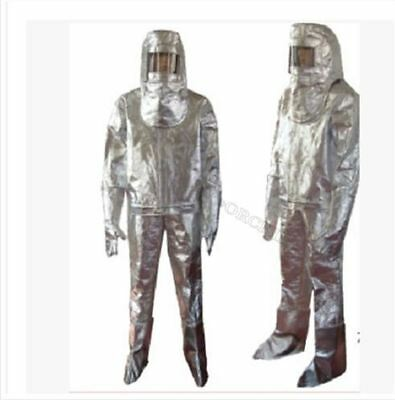 Thermal Radiation 1000 Degree Heat Resistant Aluminized Suit Fireproof Clothe Gp • 143.47$