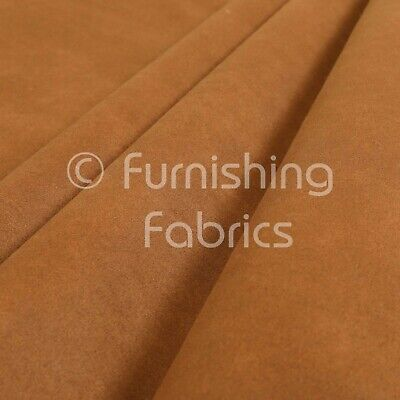£12.99 • Buy Soft Quality Durable Faux Suede Feel Leather Tan Furnishing Upholstery Fabric