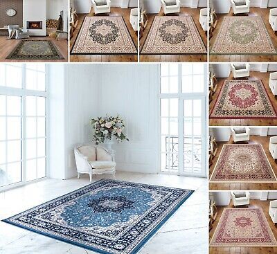 Large Rug Long Bedroom Carpet Traditional Door Mats Vintage Style Runner Mats • 142.99£