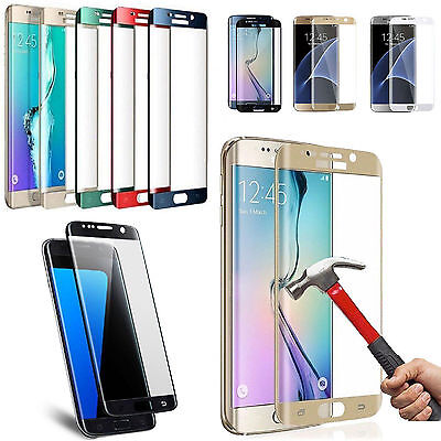 $ CDN5.24 • Buy Full Tempered Glass Screen Protector For Samsung Galaxy S7 Edge S8 S9 Plus Note9