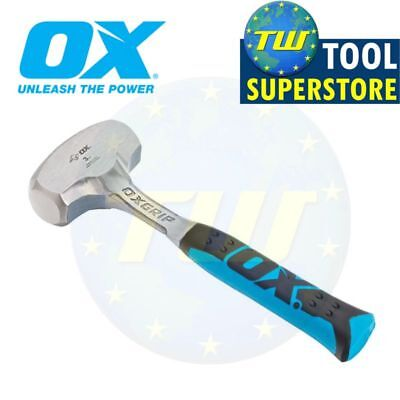 £24.99 • Buy OX Tools 3lb Club Lump Hammer Hardened Steel Face 1-Piece Solid Forged P082703