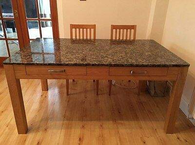 Real Stone Dining Table And Chairs • 450£