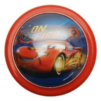 Two (2) NEW DISNEY PIXAR CARS Lightning McQueen Push/Tap Night Lights Red/Blue • 8.36£