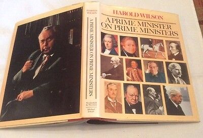 £40 • Buy ** SIGNED ** Harold Wilson On Prime Ministers First Edition