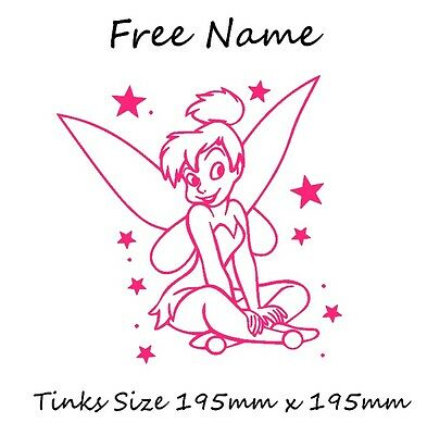 £4.40 • Buy Tinkerbell Car, Scooter Graphic Decal Vinyl Sticker + Free Name 13 Colors Avail