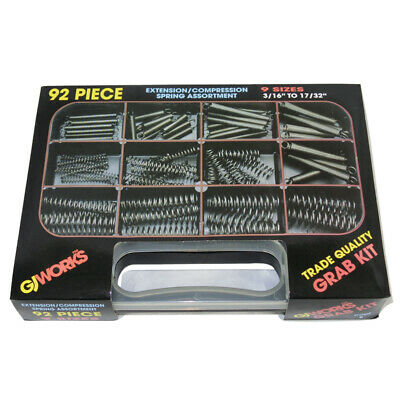 AU35.99 • Buy Gj Works Grab Kit Compression And Extension Spring 90 Piece Set Gka92