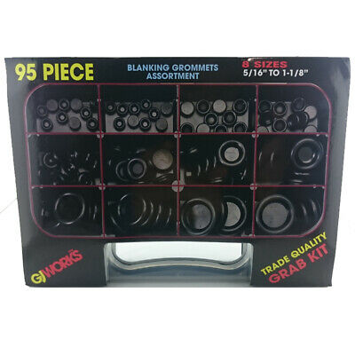 AU36.19 • Buy Gj Works Grab Kit Blanking Grommet 95 Piece Set Gka95