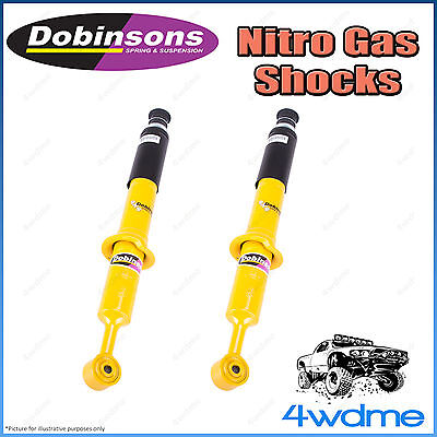 AU350 • Buy Fits Toyota Hilux N80 REVO 4WD Front Dobinson Nitro Shock Absorbers 2  50mm Lift