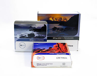 £355 • Buy Lee Filters SW150 Holder MKII+Big Stopper+Sigma 12-24mm Ring.Brand New