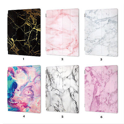 AU19.99 • Buy Marble Leather Smart Case Cover IPad 2 3 4 5 6 Gen Air Mini 1 Pro 9.7 10.5 001