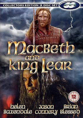 MACBETH AND KING LEAR 2 Discs DVD Helen Baxendale Jason Connery New Sealed R2 • 19.72£