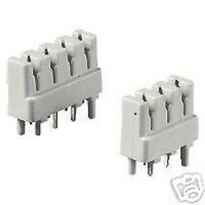 BT239A     CONNECTOR: X5   IDC TERMINAL  4 WAY (Straight Pins Type See Pic) • 1.45£