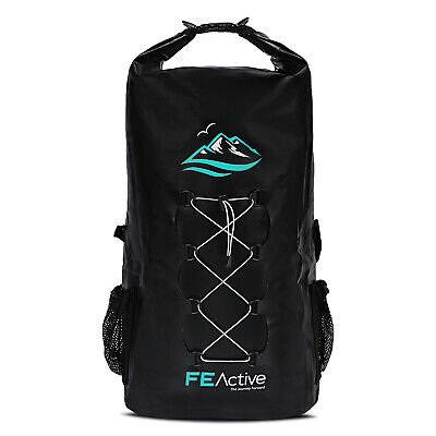 AU49.99 • Buy FE Active Waterproof Rucksack 30L Dry Backpack Beach Bag Fishing, Kayak, Camping