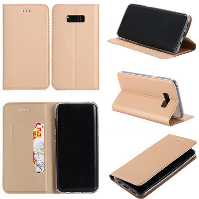 $ CDN9.18 • Buy For Samsung Galaxy Ultra Slim Magnetic Wallet Case Flip PU Leather Phone Cover