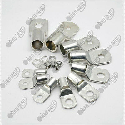 $ CDN18.45 • Buy Tinned Copper AWG Cable Lugs Ring Terminals Welding Battery Marine Cable Wire