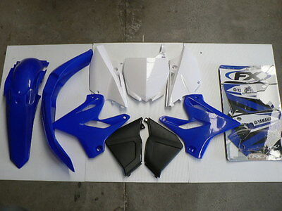 AU370.07 • Buy Plastic & Sticker Kit Fits Yamaha YZ125 2002 2003 2004 2005 Restyle To 2015 On