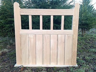 Handcrafted Solid European Oak Garden Gate 900mm X 900mm With Moulded Stiles • 405£