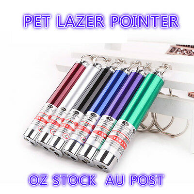 AU4.53 • Buy MINI Cat Dog Fun Pointer Light Laser Lazer Pointer LED Training Torch Toys Pen
