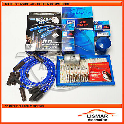 AU79.99 • Buy Major Service Kit For Holden Commodore VS, V6 3.8Ltr With Eagle Leads