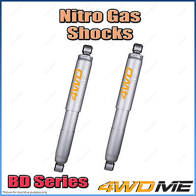AU270 • Buy Pair Fits Toyota Hilux N80 GUN126 4WD Rear Nitro Shock Absorbers 2  40mm Lift