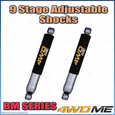 AU400 • Buy Pair Fits Toyota Hilux N80 GUN126 4WD Rear 9 Stage BM Shock Absorbers 40mm Lift