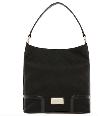 AU209.50 • Buy OROTON SIGNATURE O MYSTICAL HOBO BAG HANDBAG Black - New