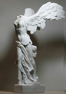 £86.70 • Buy Winged Nike Victory Of Samothrace Cast Marble Greek Statue Sculpture 14.17in