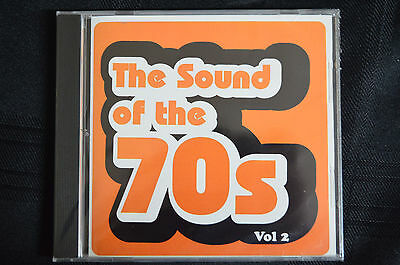 The Sounds Of The 70's VOL 2   New And Sealed  Various Artists    (B8) • 2.25£