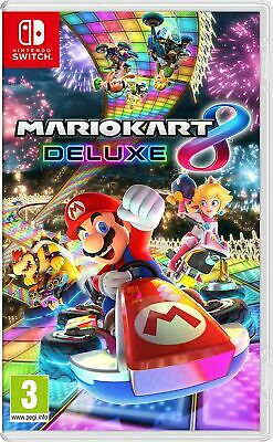 Mario Kart 8 Deluxe (Nintendo Switch) Brand New & Sealed UK PAL Quick Dispatch • 46.99£